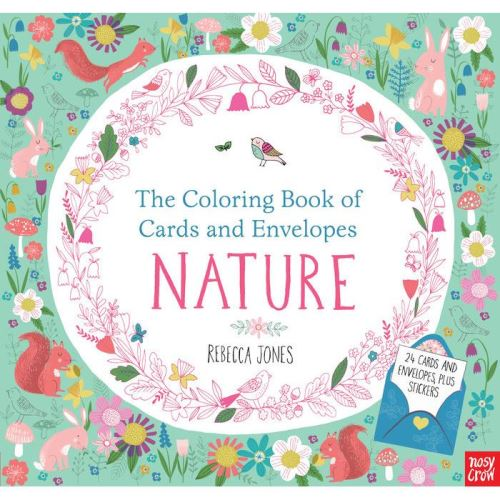 COLORING BOOK CARDS NATURE