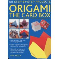 ORIGAMI THE CARD BOX - 60 Step by Step Projects