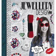 Jewellery Design (Craft Kit with 200 Beads, Jewellery Clasp and Over 6 Metres of Thread)