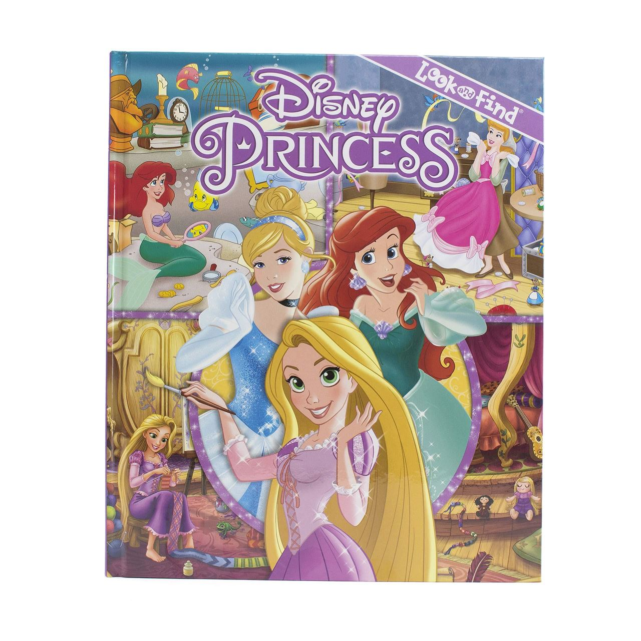 Disney Princess - Look And Find imagine