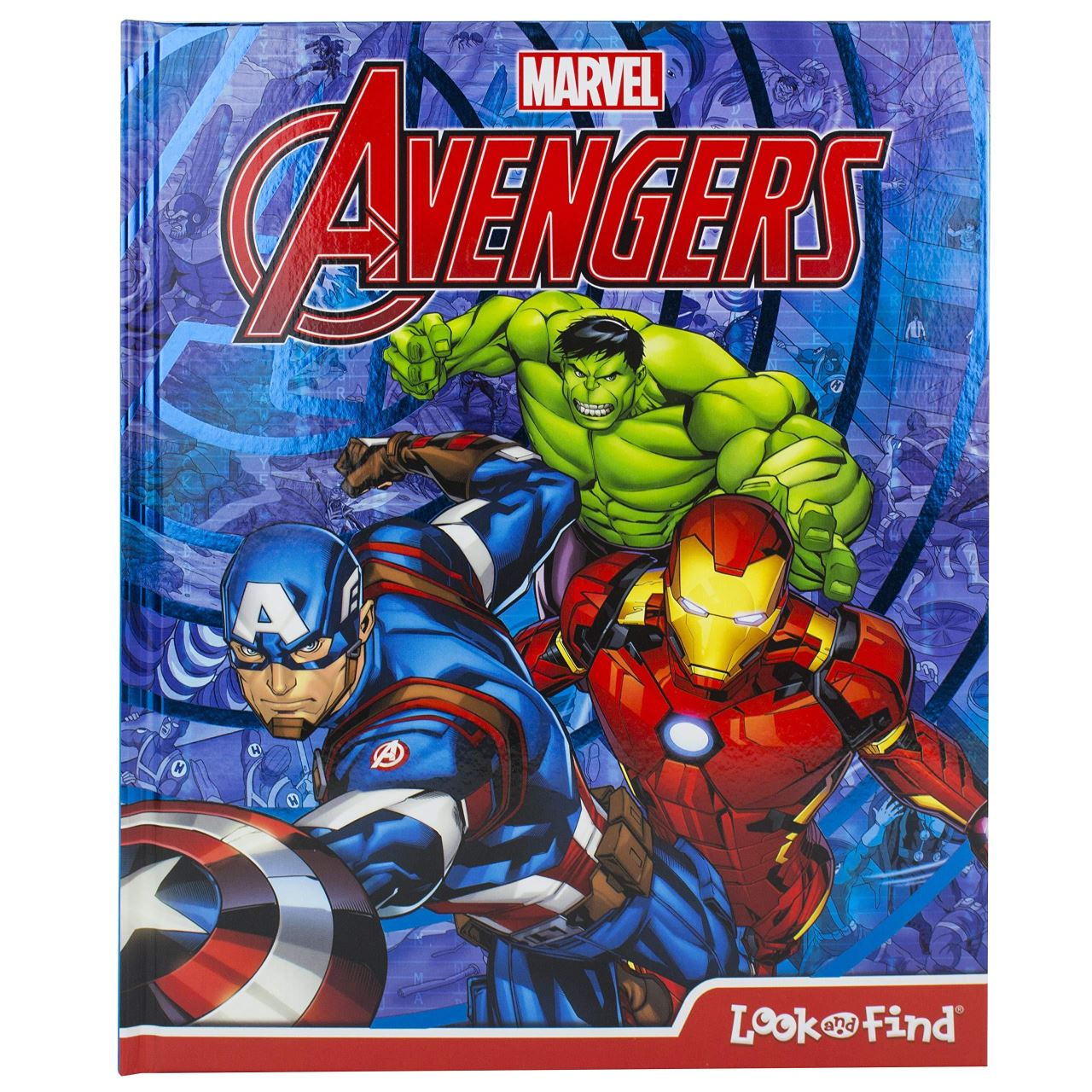 Avengers Look & Find Book imagine