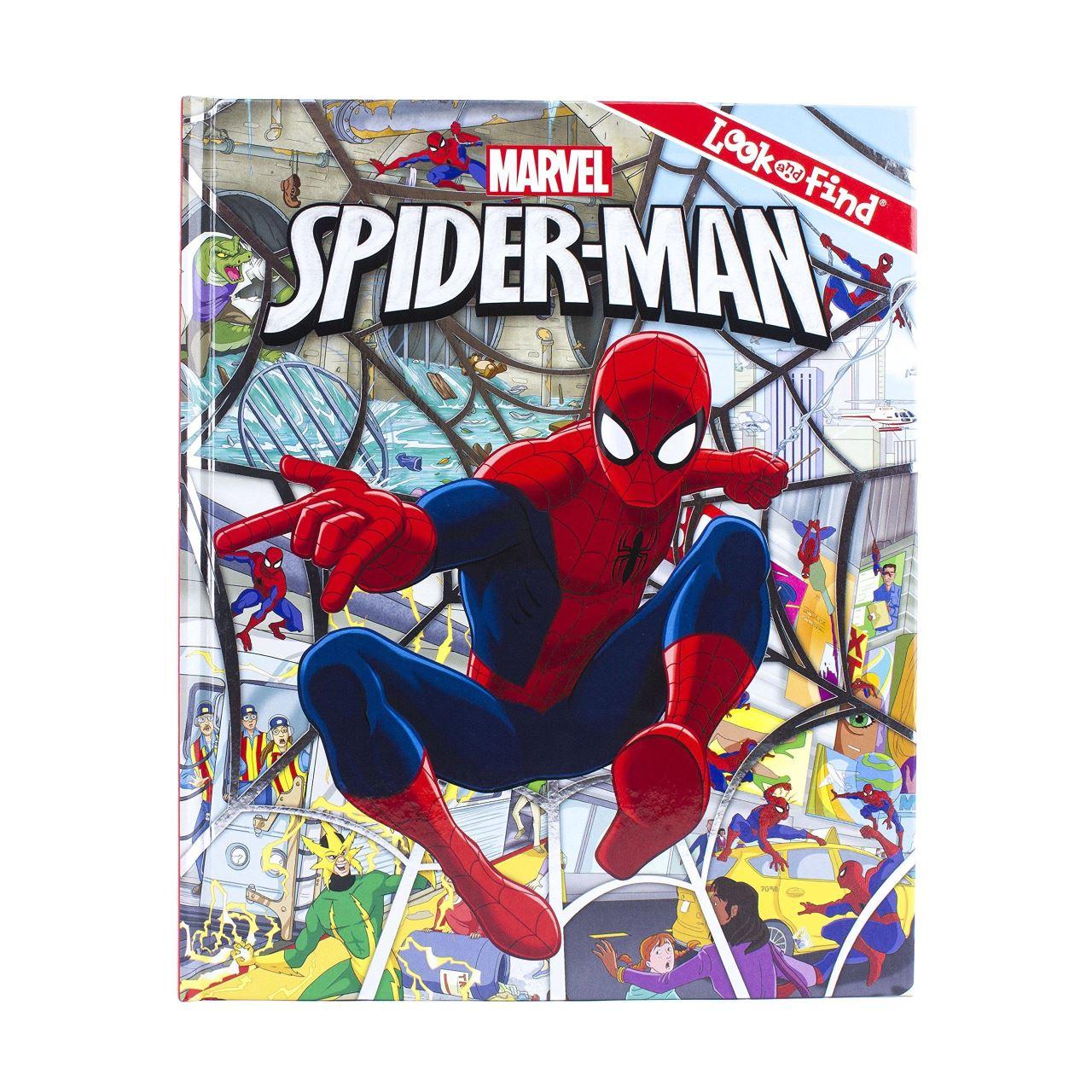 Spiderman Look & Find imagine