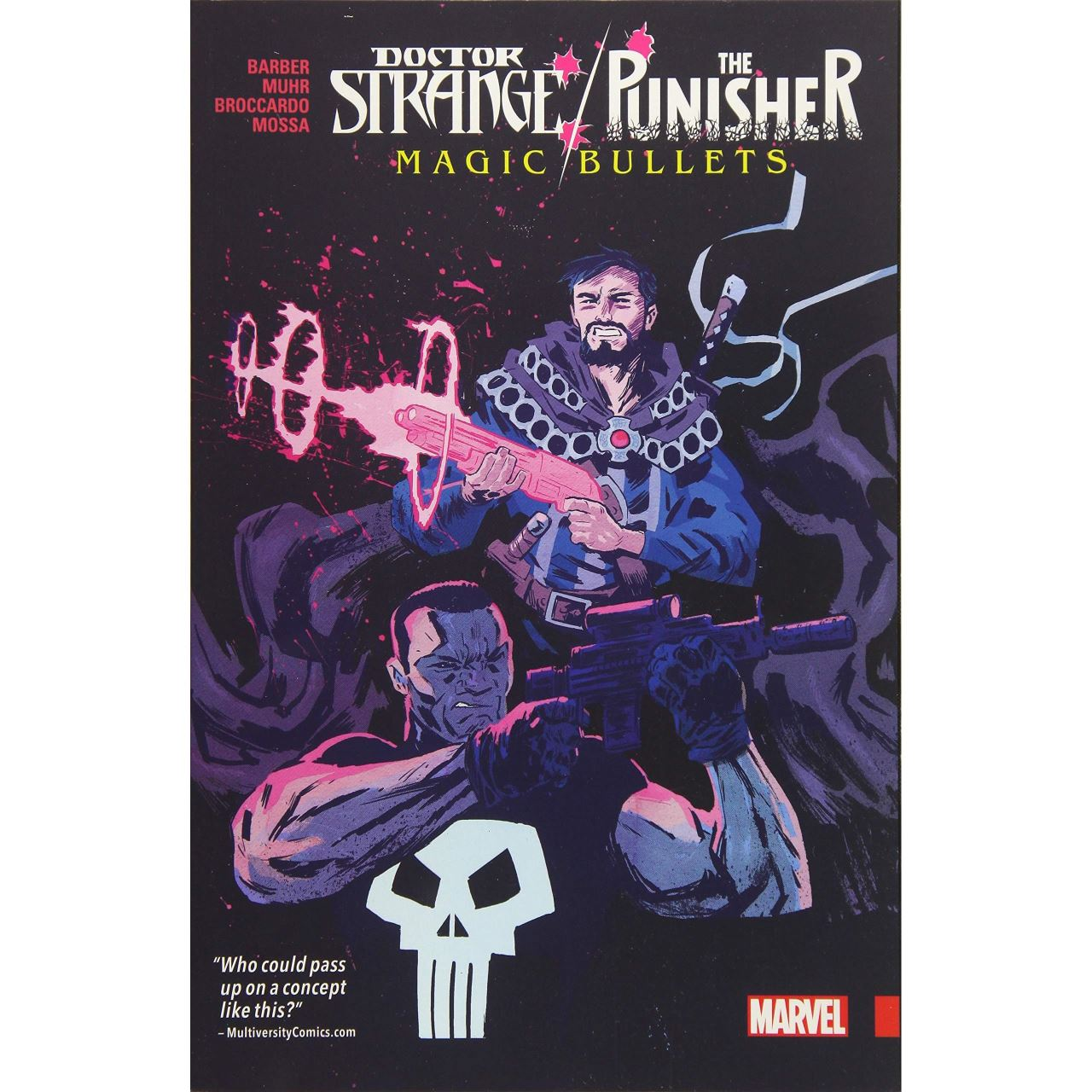 Doctor Strange/Punisher: Magic Bullets imagine