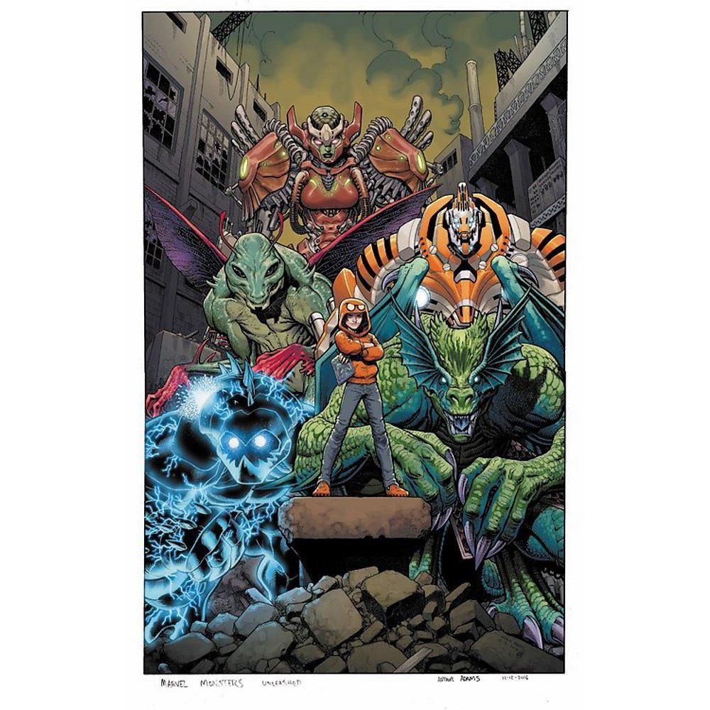 Monsters Unleashed Vol. 1: Monster Mash imagine
