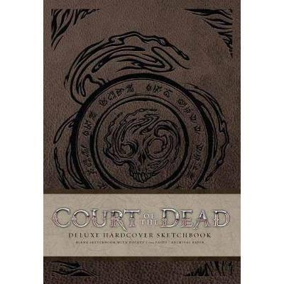 Court Of The Dead Hardcover Blank Sketchbook imagine