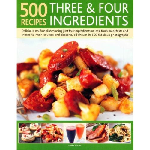 500 RECIPES 3&4 INGREDIENTS (Cookbooks)
