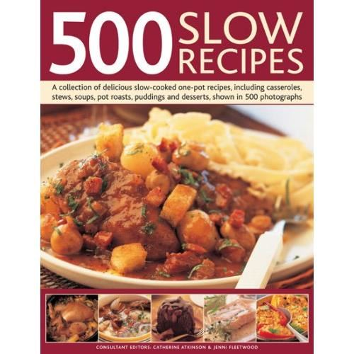 500 SLOW RECIPES  (Cookbooks)