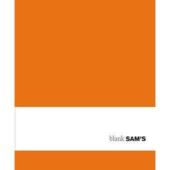 SAM NOTEBOOK BLANK COGNAC