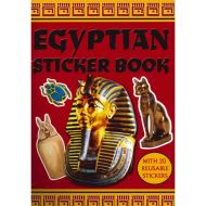 Egyptian Sticker Activity Book with 20 reusable stickers