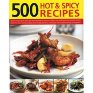 500 HOT & SPICY RECIPES  (Cookbooks)