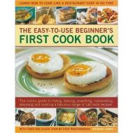 EASY-TO-USE BEGINNER`S FIRST COOK BOOK