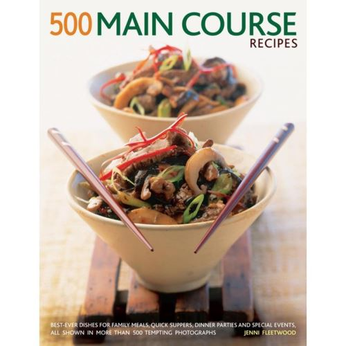 500 MAIN COURSE RECIPES