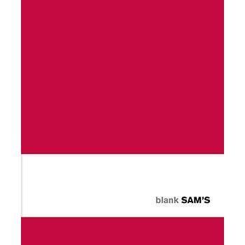 Sam's Notebook Blank - Red imagine