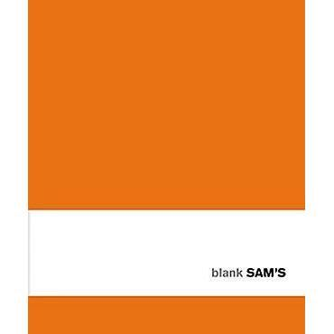 SAM's Notebook Blank - ORANGE