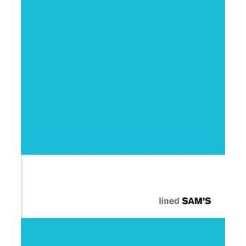 SAM's Notebook Lined - TURQUOISE
