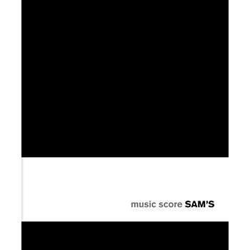 SAM's Notebook Music Score - BLACK