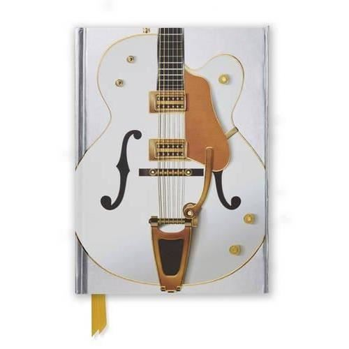 Gretsch White Guitar (Flame Tree Notebooks)