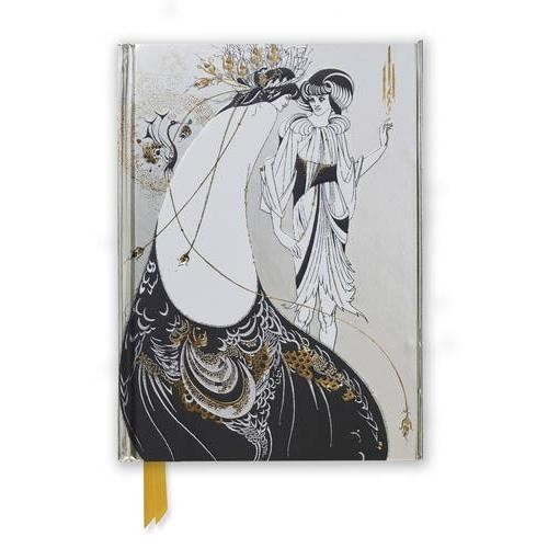 The Peacock Skirt by Aubrey Beardsley (Flame Tree Notebooks)
