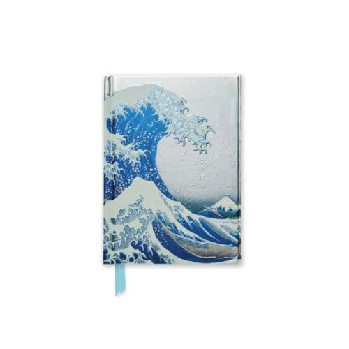 Foiled Pocket Journal: The Great Wave (Hokusai) (Flame Tree Notebooks)