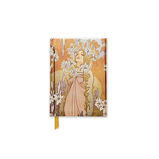Lily: Alphonse Mucha FPJ (Flame Tree Notebooks)