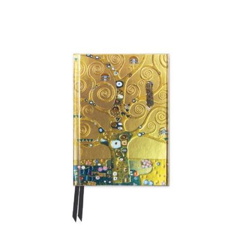 Foiled Pocket Journal: Tree Of Life (Flame Tree Notebooks)