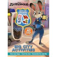 DISNEY ZOOTROPOLIS BIG CITY ACTIVITIES: OVER 40 THINGS TO DO