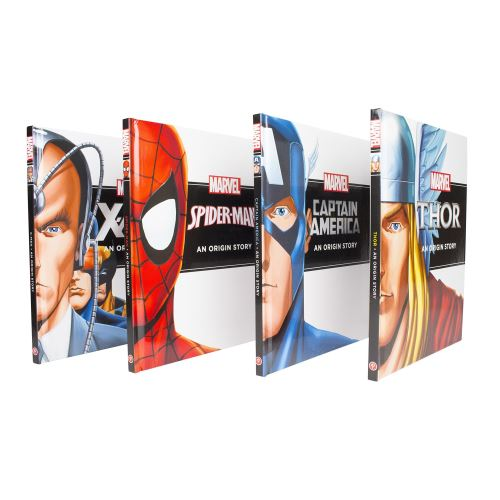 Marvel Hero Origins Story Collection