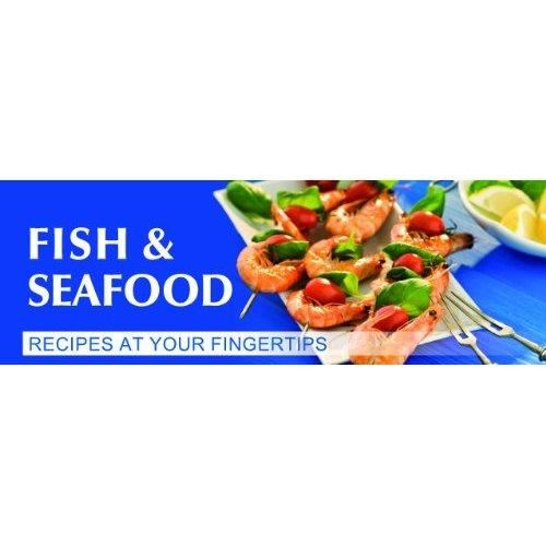 Fish & Seafood: Handy Recipe Collection to Store or Hang in Your Kitchen