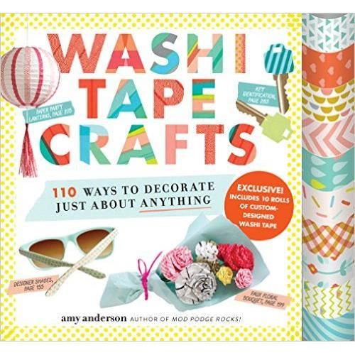 Washi Tape Crafts: 110 Ways To Decorate Just About Anything imagine