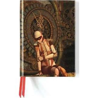 Steampunk Mannequin (Flame Tree Notebooks)