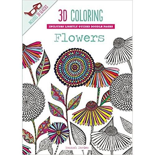 3D COLORING: FLOWERS