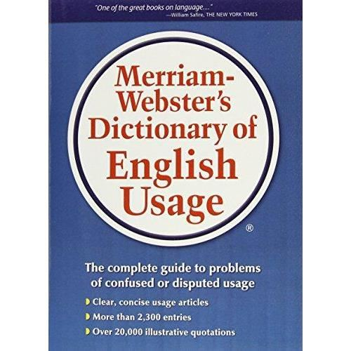 MERRIAM-WEBSTER`S DICTIONARY OF ENGLISH USAGE - REVISED