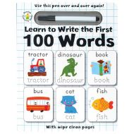 WIPE CLEAN: Learn to Write the First 100 Words (Activity Books)