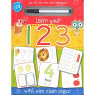 WIPE CLEAN: 123 (Activity Book)