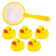PACK OF 5 RUBBER DUCKS
