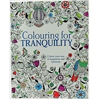 COLOURING FOR TRANQUILITY by Parragon