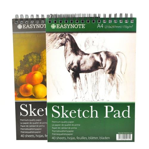 A4 ARTISTS EASYNOTE SKETCH PAD
