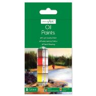 OIL PAINTS 8X6ML TUBES