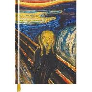 EDVARD MUNCH: THE SCREAM (BLANK) SKETCH