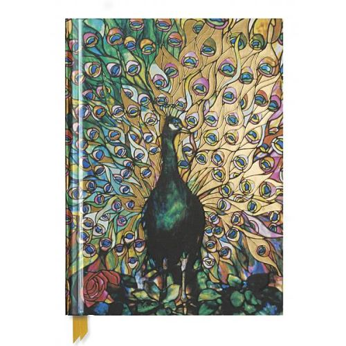 TIFFANY: DISPLAYING PEACOCK SKETCH (FLAME TREE NOTEBOOKS)