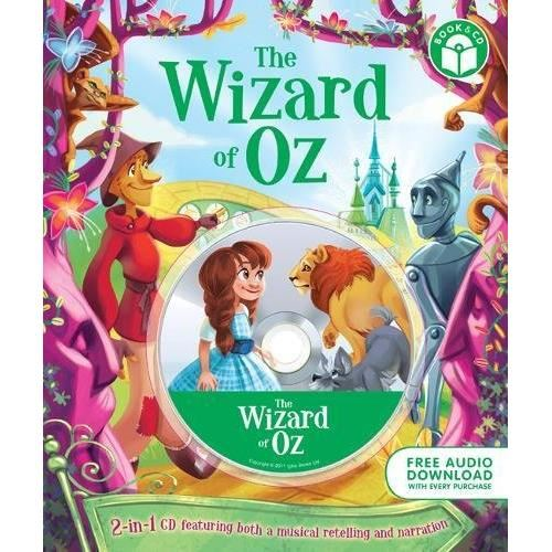 3484-0004 THE WIZARD OF OZ + CD