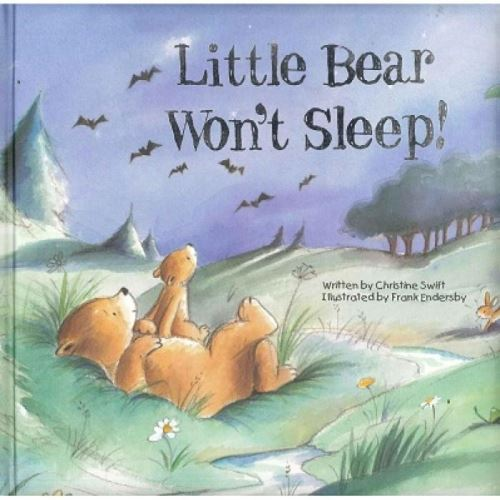 PADDED BOOKS - LITTLE BEAR WON'T SLEEP