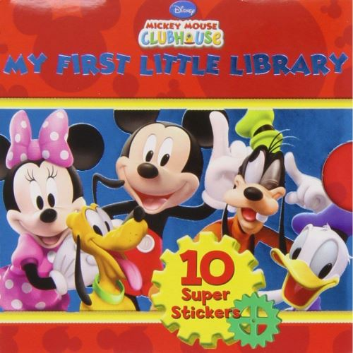 DISNEY MICKEY MOUSE 6 BOOKS