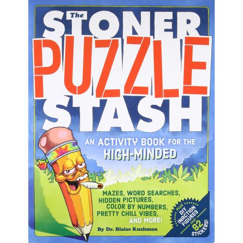 The Stoner Puzzle Stash: An Activity Book for the High-Minded