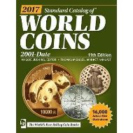 2017 STANDARD CATALOG OF WORLD COINS 2001