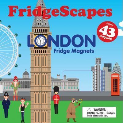 Fridgescapes: London Fridge Magnets imagine