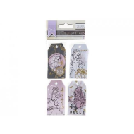 PRINCESS GIFT TAGS 24 Pieces