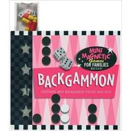Mini Magnetic Games: Backgammon: Contains Mini Backgammon Pieces and Dice