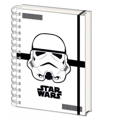 STORMTROOPER STAR WARS A5 LINED NOTEBOOK