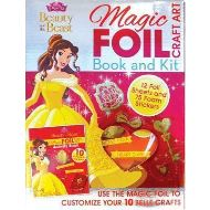 Disney Princess Beauty and the Beast Magic Foil Craft Art : Book and Kit